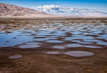 Desert rain water - Death Valley