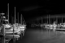 Pre-dawn at the marina - Titusville