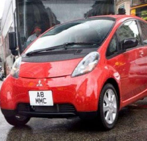 Mitsubishi Models: Mitsubishi iMiev Electric Vehicle