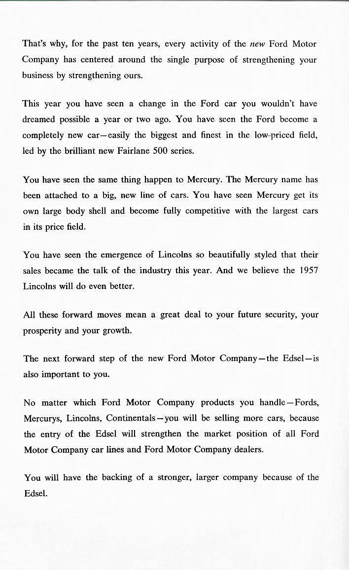 Edsel Historical Documents