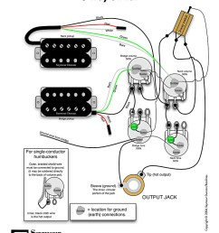 standard les paul wiring courtesy of seymour duncan  [ 819 x 1036 Pixel ]