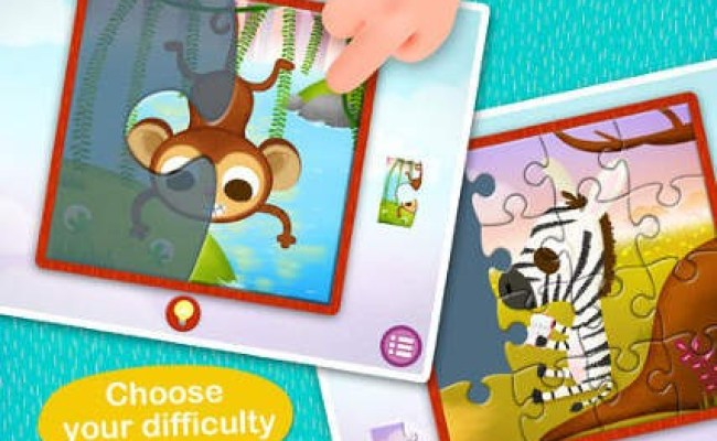 Wildlife Jigsaw Puzzles 123 For Ipad Free Fun Learning