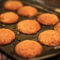 Ginger Oat Biscuits