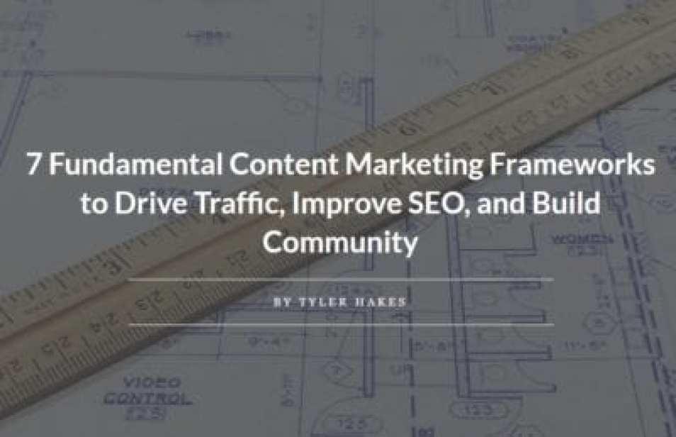 content marketing frameworks