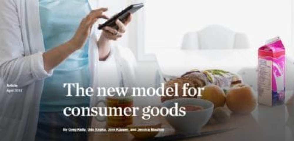 new model for consumer goods