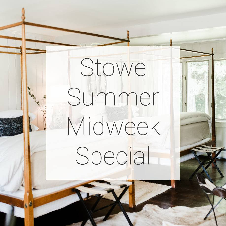 Stowe Summer Midweek Special Promotion