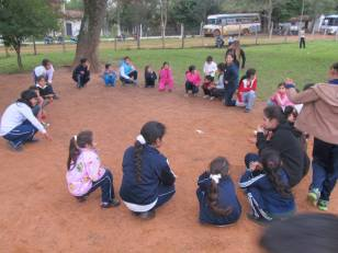 Santa Rita, Paraguay. Daily school activities