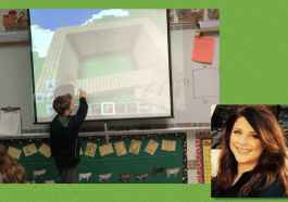 minecraft edtech andrea jones K-12 3rd grade