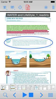 Claro PDF Lite Screen EdTechChris.com Useful Accessibility iOS Apps