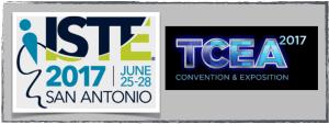 conferences ISTE TCEA ISTE17 TCEA17 2017 Chris Miller EdTechChris
