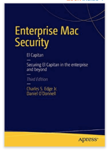 Enterprise Mac Security OS X ElCapitan Apple EdTech EdTechChris.com ISTE EdTechChris Chris Miller