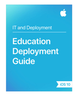 apple education deployment guide
