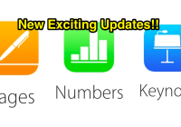 Apple iWork Has Awesome New Features | Pages, Keynote, Numbers