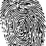 thumbprint, fingerprint