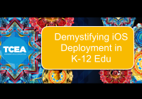 Demystifying iOS Deployment in K-12 Edu