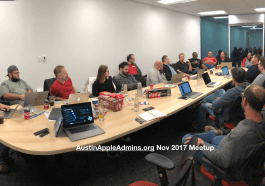 Austin Apple Admins Nov 2017 Meetup at TrueSource Labs