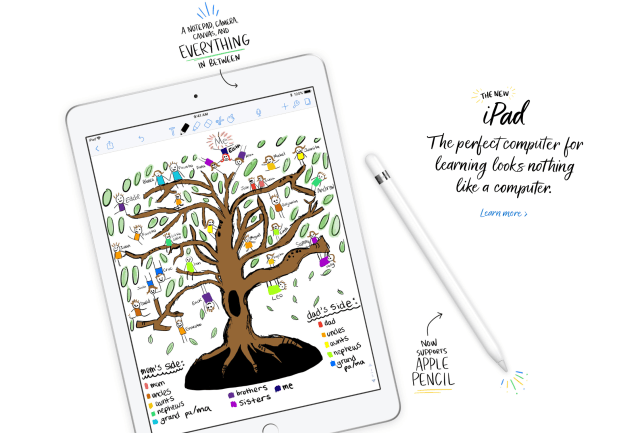 New Apple iPad Pencil