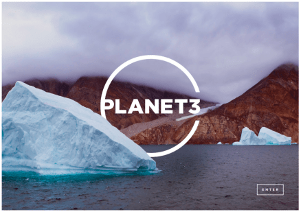 Planet3 home page