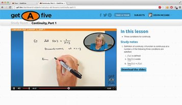 GetAFive video lessons