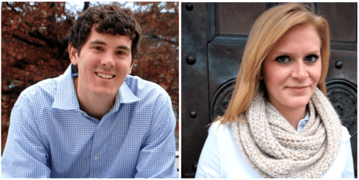 Jakob Garrow and Laura Wallendal of EdTrips