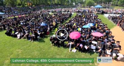 Lehman College graduation