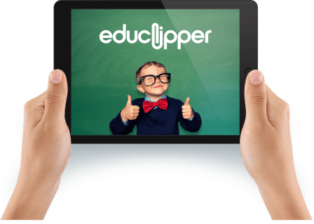 eduClipper on iPad