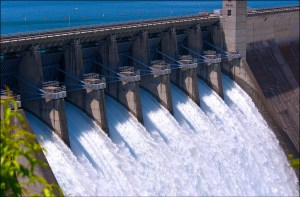 Beaver Lake Dam - Open Floodgates