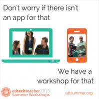 Workshop for That, EdTechTeacher Summer Workshops