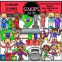 Summer Games Clip Art Bundle Color And B W Welcome To