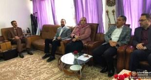 الخلافة بعد النبي (ص) بحث في مواقف الاعتراض والتأييد عنوان حلقة نقاشية