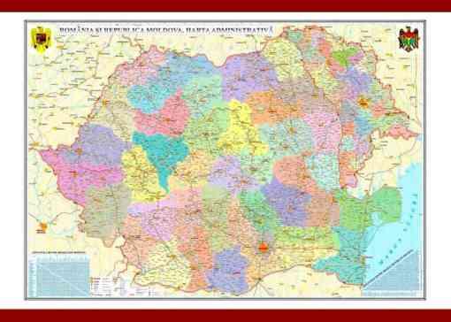 GHR5CD romania si republica moldova harta admi 2