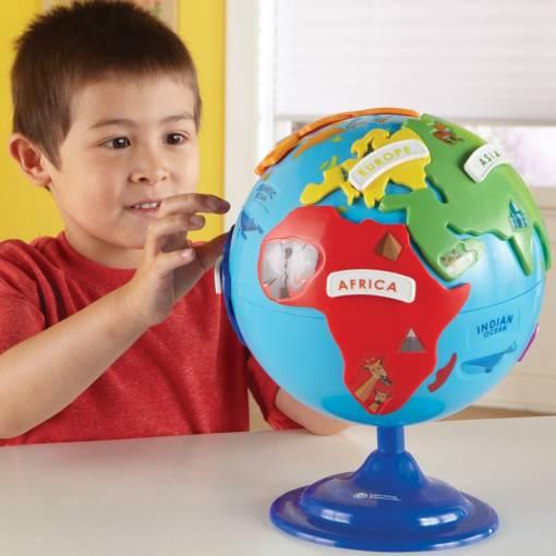 interactive puzzle globe 2