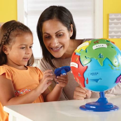 interactive puzzle globe 7
