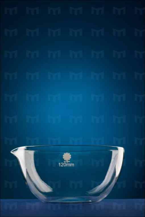 capsula sticla cu fund plat