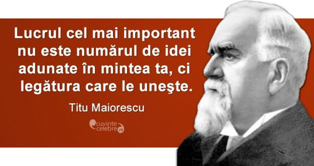 Citat, Titu Maiorescu