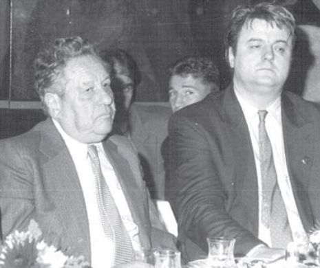Eugen Barbu și Vadim Tudor