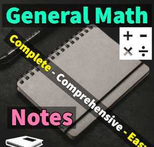 9th class general math notes fi