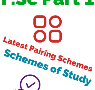 FSc first year scheme of studies