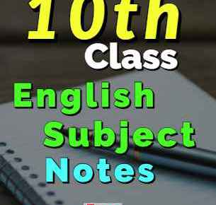 Download 10th Class English Notes Complete & Comprehensive fi