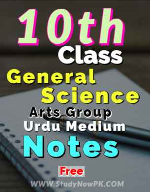 Download 10th General Science Notes Urdu Medium of All Chapters fi