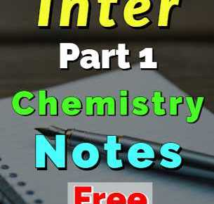 Download Chemistry Notes FSc 1st Year Complete Book Notes fi