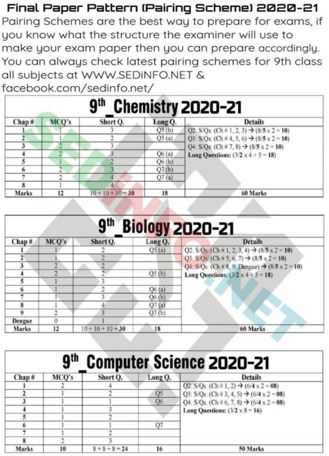 9th-Pairing-Schemes-2020-21-Chemistry-Biology-Computer