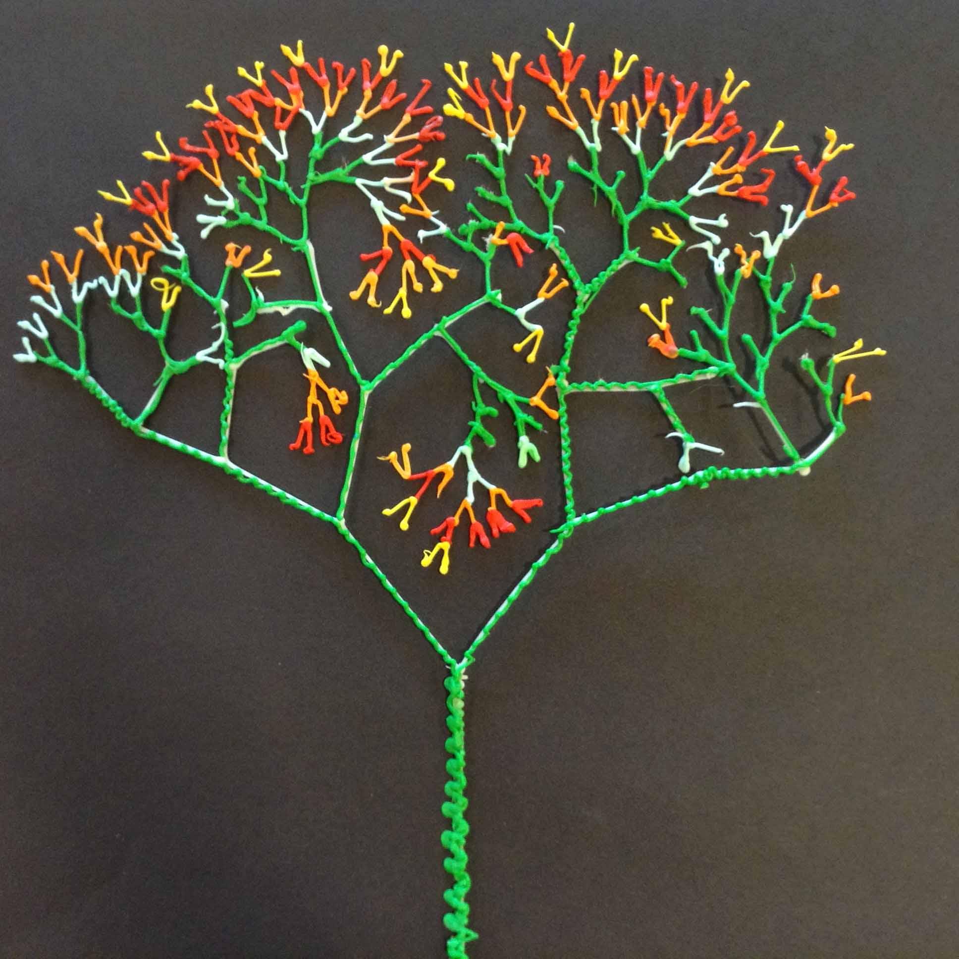 Math Fractal Trees