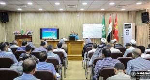 الدكتور نعمة الاسدي يلقي محاضرات