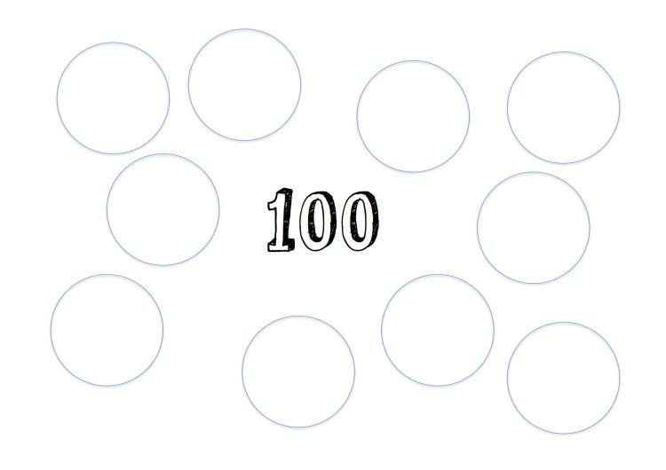 100 ark med cirkler kopi