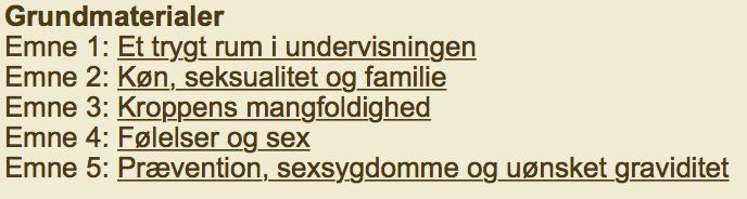 Uge sex