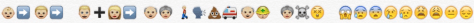 emoji historie