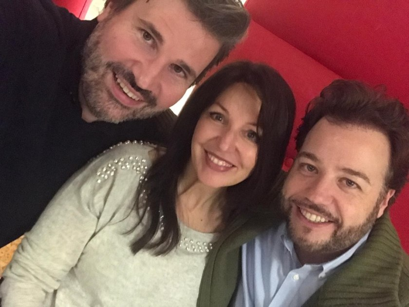 Left to right: baritone Massimo Cavalletti, soprano Cinzia Forte, tenor Eduardo Aladrén.