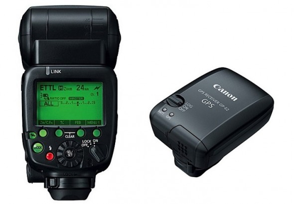 canon new flash and GPS transmitter