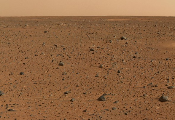 Curiosity picture of Mars Surface